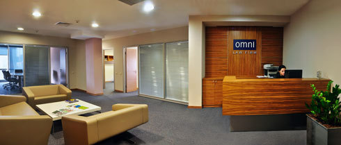 OmniLawFirm Reception